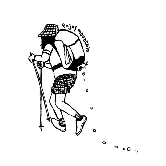 CLOUDMAN trekking man(W287mm / H339mm)
