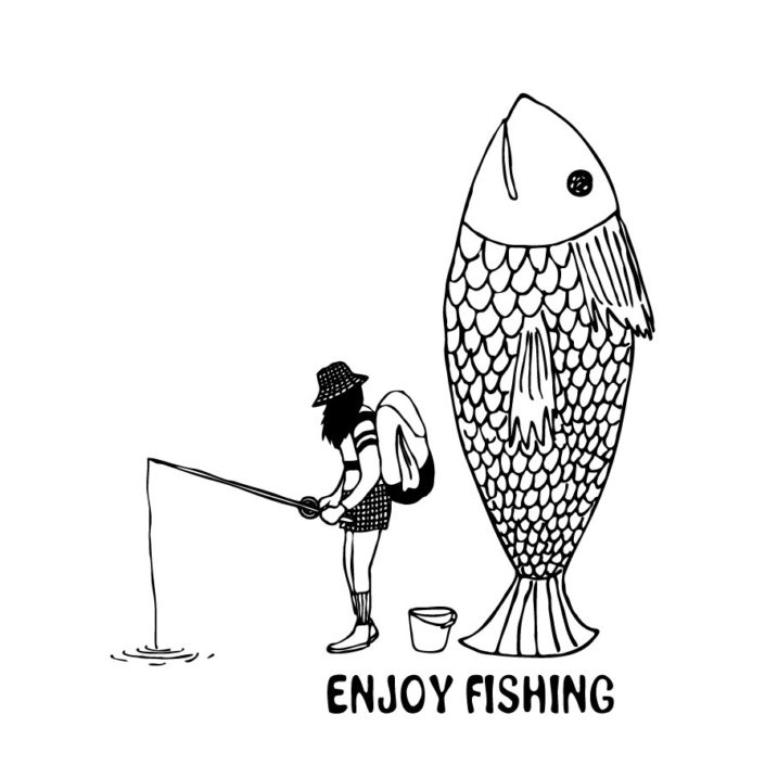 CLOUDMAN fishing(W211mm / H240mm)