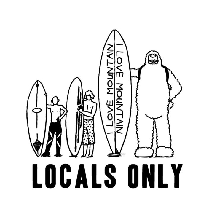 CLOUDMAN locals only(W254mm / H258mm)