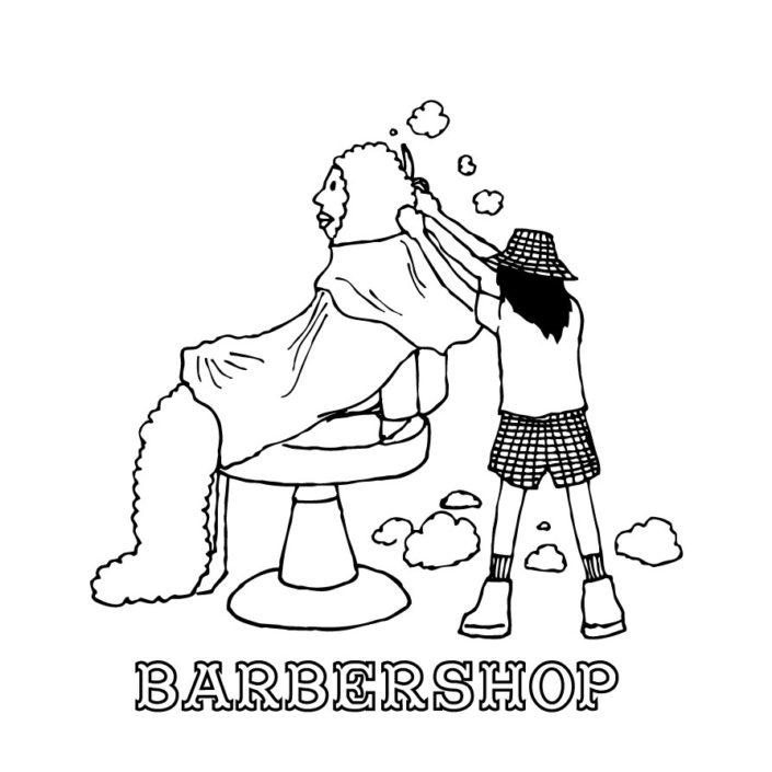 CLOUDMAN barbershop(W220mm / H227mm)