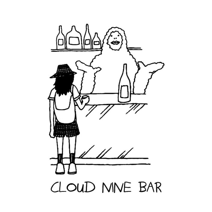 CLOUDMAN cloud nine bar(W215mm / H312mm)