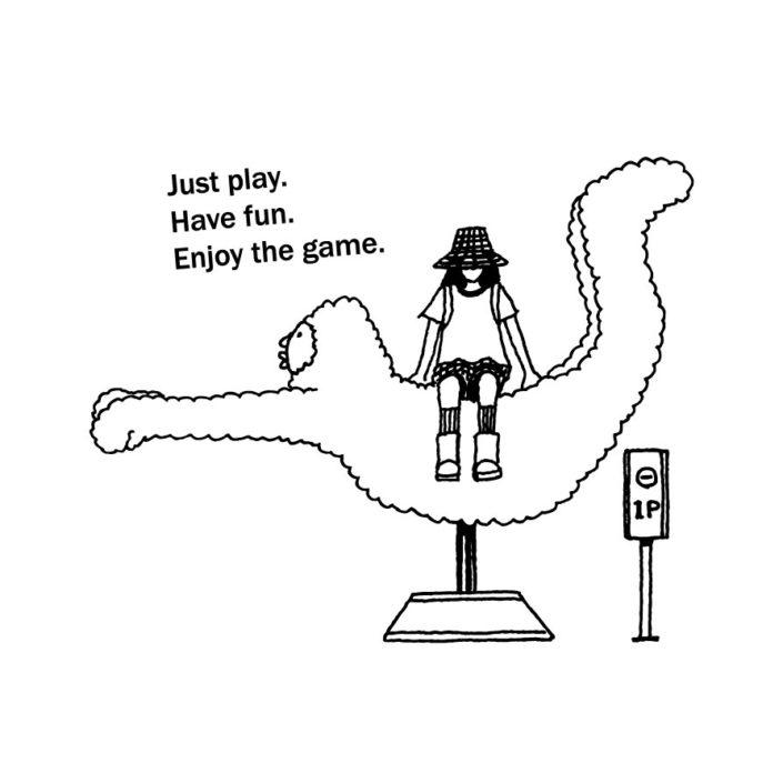 CLOUDMAN enjoy the game(W249mm / H200mm)