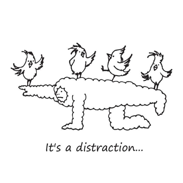 CLOUDMAN distraction(W278mm / H187mm)