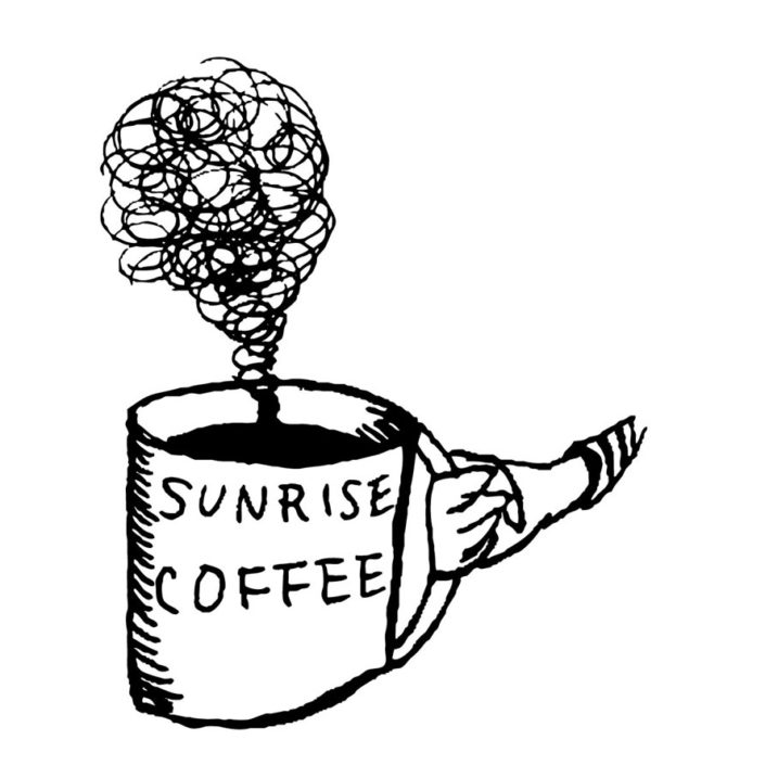 sunrise coffee(W235mm / H290mm)