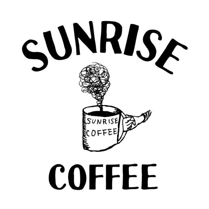 sunrise coffee logo(W240mm / H245mm)