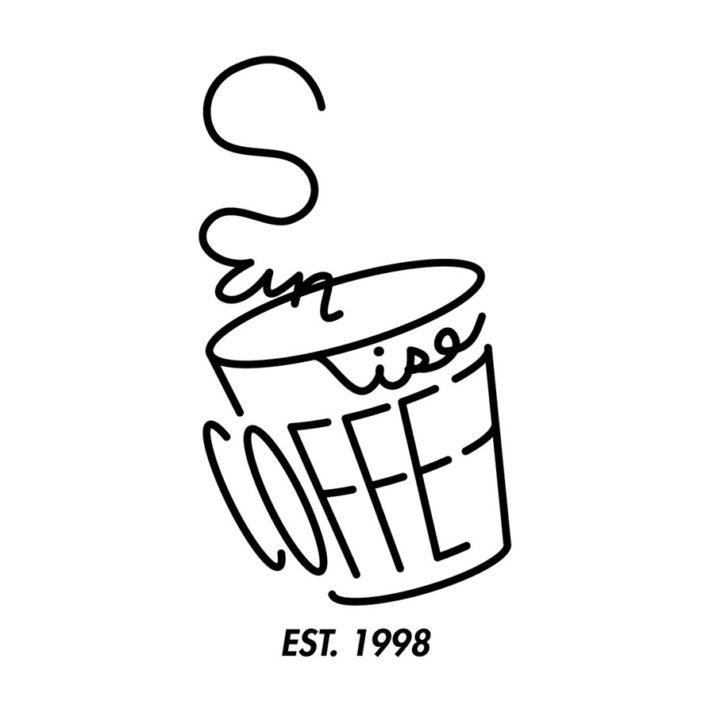sunrise coffee line logo(W240mm / H245mm)