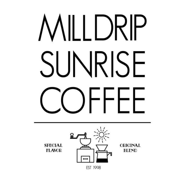 milldrip sunrise coffee(W185mm / H248mm)