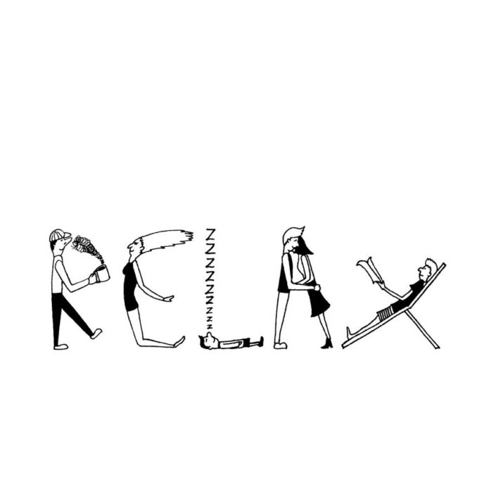 Relax people(W262mm / H81mm)