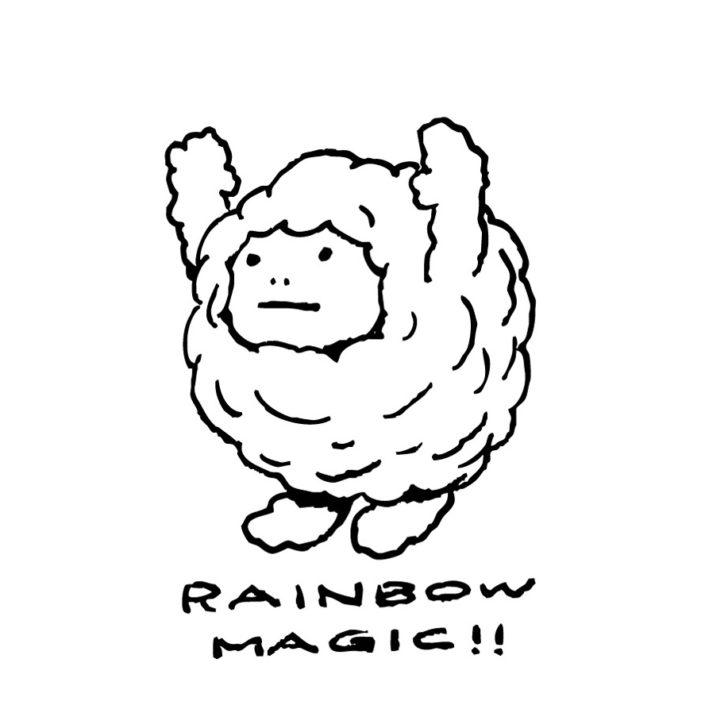 rainbow magic(W62mm / H90mm)